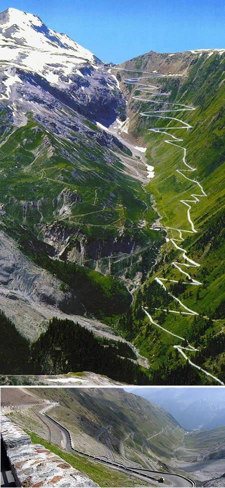 10. Jalan Lintas Stelvio Trollstigen di Italia2