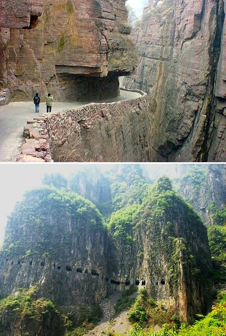 2. Terowongan Guoliang di Cina2
